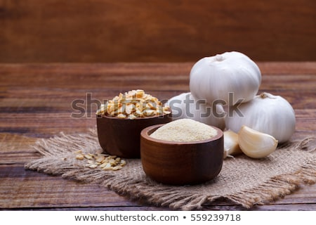 Crushed garlic powder  Stock photo © deyangeorgiev