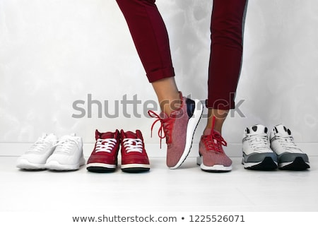 Woman Chosing Shoes Stock photo © piedmontphoto