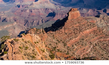horizontal · vue · Grand · Canyon · sunrise · coucher · du · soleil · Voyage - photo stock © oliverjw