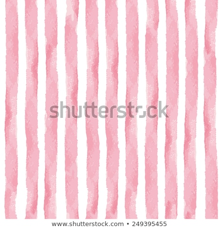 Vector sweet stripped background. White and pink. Cute wallpaper Stock photo © vitek38