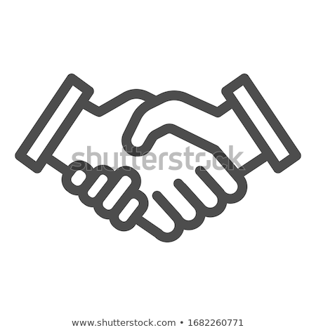 Deal confirmed with handshake Stock photo © tommyandone