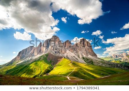 лет долины итальянский небе трава пейзаж Сток-фото © Antonio-S