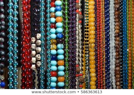 beaded necklace patterns stock photo © rhamm