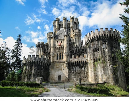 butron castle spain stock photo © nobilior