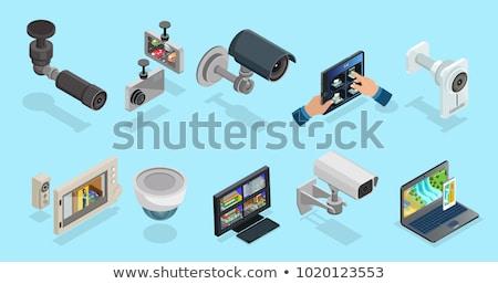 кабельное телевидение информации кнопки современных лице Сток-фото © tashatuvango