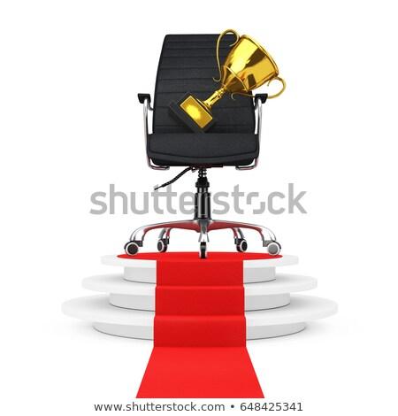 best over golden pedestal Stock photo © marinini