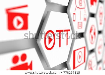 OTT Service.  Information Technology Concept. Stock photo © tashatuvango