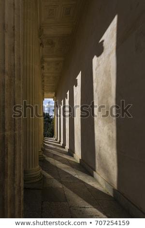 Templom győzelem Anglia építészet park Európa Stock fotó © phbcz