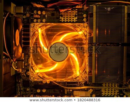 Computer cooler closeup background. Stock photo © Leonardi