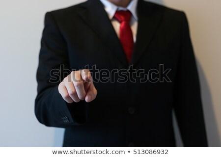 человека · рабочих · forex · диаграммы · виртуальный · экране - Сток-фото © dolgachov
