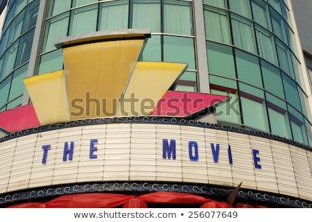 Art deco teatro Miami histórico fuente etapa Foto stock © meinzahn