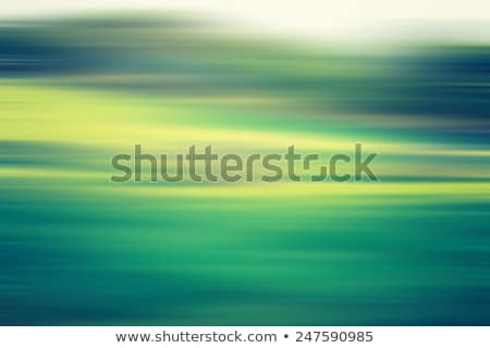 blue green abtsract landscape Stock photo © magann