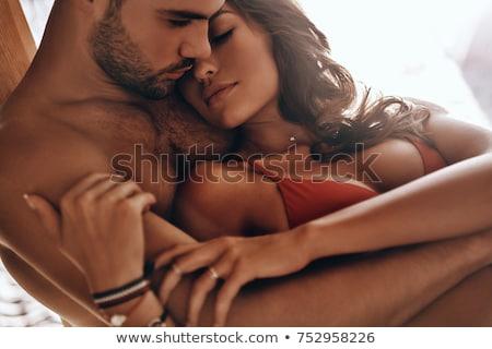 страстный пару портрет влажный женщины человек Сток-фото © pressmaster