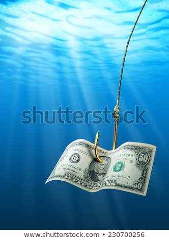 fishing hook and free sign stock photo © devon