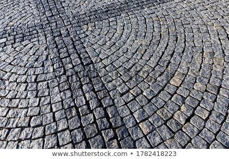 Manier steen bouw abstract straat achtergrond Stockfoto © meinzahn