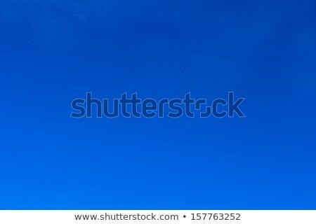 Kék ég nap felhők illusztráció napsugár égbolt Stock fotó © impresja26