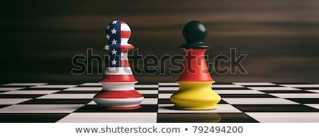 USA vs Duitsland groep fase wedstrijd Stockfoto © smocker03
