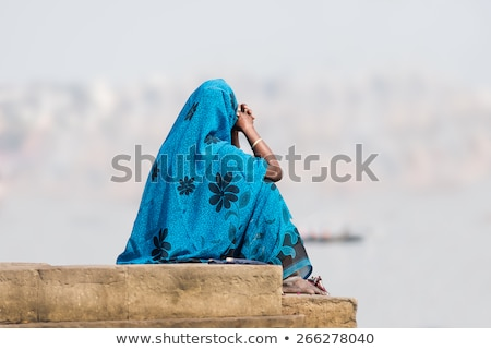 indian people in varanasi Stock photo © tiero