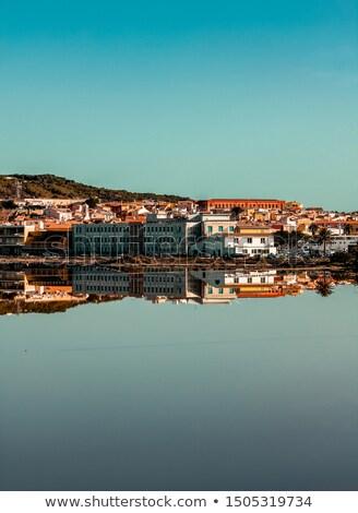 Sardinia - urban view in Carloforte Stock photo © Antonio-S