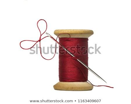 Brown spool of thread  Stock photo © natika