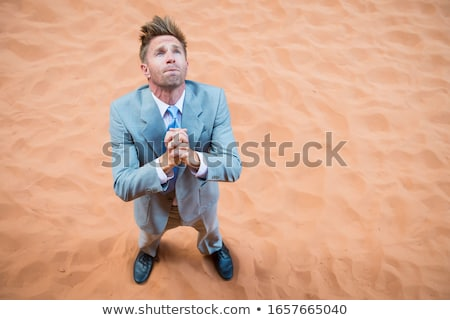Stranded Businessman Stock photo © Lightsource