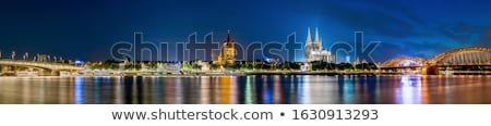 cologne cathedral and skyline germany stock photo © meinzahn