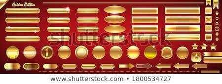 Christmas Discount Gold Vector Icon Button Stock photo © rizwanali3d