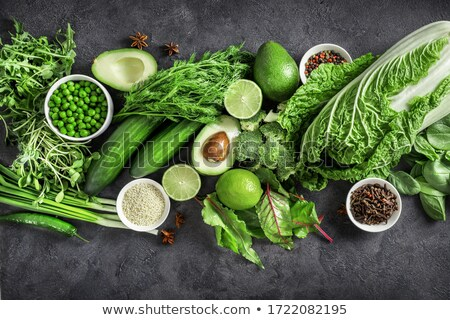 salad with vegetables and greens stock photo © philipimage
