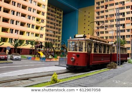 miniature model tramway Stock photo © nelsonart