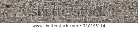 old stone walls stock photo © morrbyte