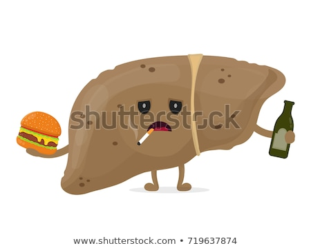 fatty liver disease   medical concept stock photo © tashatuvango