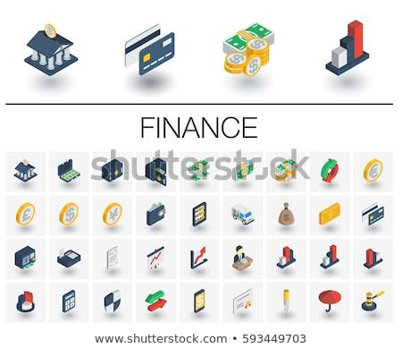 verde · símbolo · libra · negócio · assinar · banco - foto stock © nickylarson974