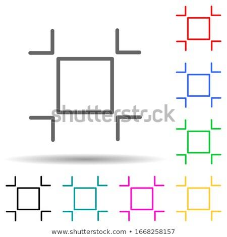 24 услугами фиолетовый вектора кнопки икона Сток-фото © rizwanali3d