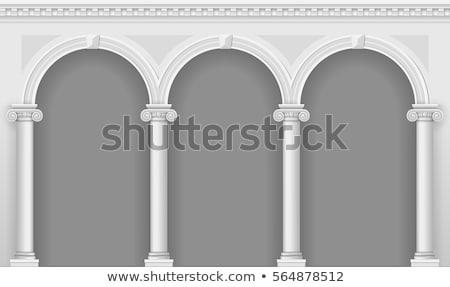 arch · alhambra · Spagna · pietra · sollievo · palazzo - foto d'archivio © rmbarricarte
