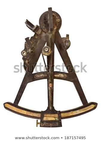 古い 真鍮 カットアウト 楽器 2 ストックフォト © Suljo