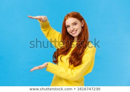 Pretty Redhead Stock photo © ClipArtMascots