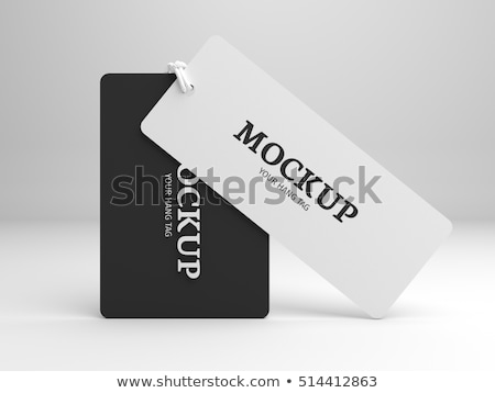 Sale tags mock up set Stock photo © pakete