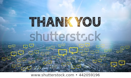 köszönjük · posta · közelkép · lövés - stock fotó © devon