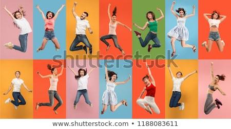 Giovani stile di vita collage snapshot foto giovani Foto d'archivio © stevanovicigor