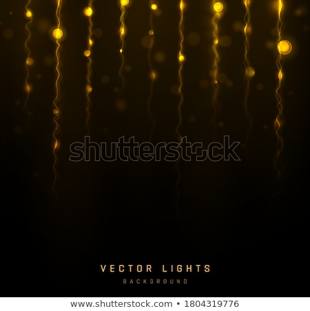 schitteren · vintage · lichten · eps · 10 · vector - stockfoto © beholdereye