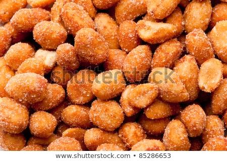 édes · pörkölt · mandulák · ízletes · kék · kerámia - stock fotó © digifoodstock