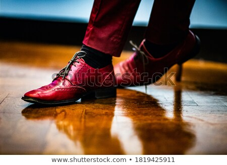 vermelho · terno · empresário · negócio · trabalhar - foto stock © sgursozlu