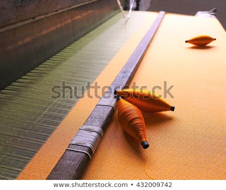 木製 古い パターン アジア 人間 繊維 ストックフォト © Phantom1311