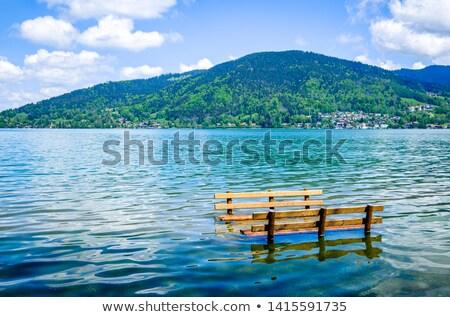 Flood on playground Stock photo © simply