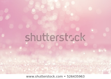 christmas background with stars and bokeh pink color stock photo © nelosa