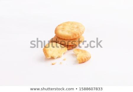Knapperig biscuit illustratie witte grafische maaltijd Stockfoto © bluering