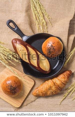 Válogatás sült termékek különböző kenyér sütemény Stock fotó © Digifoodstock
