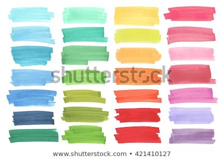 Stockfoto: Kleurrijk · school · naadloos · krijt · boord