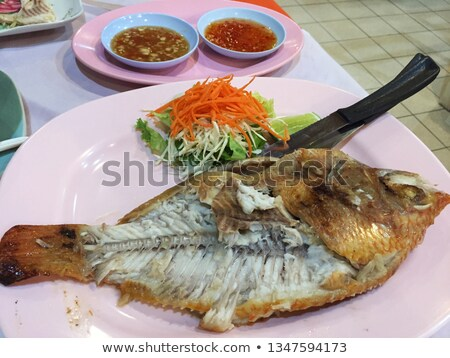 Leftover of a fish Stock photo © bluering