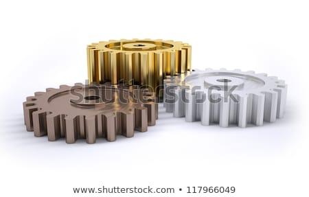 3D argento oro attrezzi molti Foto d'archivio © tracer